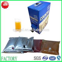 Nylon & aluminum laminated BPA free beverage packing bag