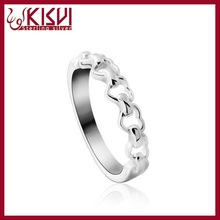 Love plus Ring 925 Sterling Silver Jewelry men ring model Wholesale