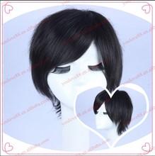 Short black cosplay wig Death Note cosplay wig men's short wig cosplay