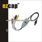 usb video capture device,4 channel usb 2.0 dvr video audio capture adapter-ezcap172