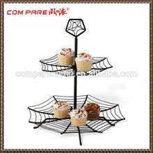 Fashion Design! Wedding Party Black Wire Cupcake Stand