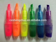 hot mini lovely girls highlighter pen