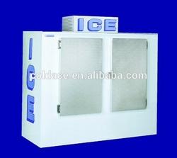 DC-670 Refrigerated bagged ice storage bin/ solar power optional