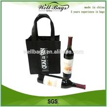 Portable custom non woven wine bag, tote bag,shopping bag