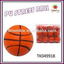 twinkle toys PU basketball anti stress balls