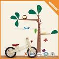venta al por mayor y decorativo encantadora animales de dibujos animados de la pared pegatinas