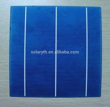 156mm 3BB 17.20% efficiency4.2- 4.3W polycrystalline silicon solar cell price