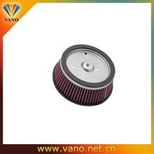 High performance motorcycle air filter with customized logo for motorcycle