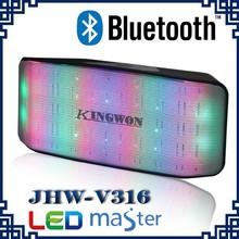Kingwon Active Wireless Bluetooth Professional Speaker with FM Radio
