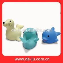 Niños de baño Animal de juguete de plástico feliz baño de juguete de plástico de juguete de pescado