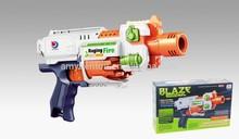 Emocionante Airsoft China brinquedo de plástico borracha bala arma de brinquedo