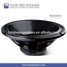 """18"""" long voice coil deep bass long throw speaker design subwoofe"""