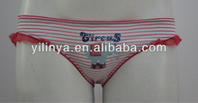 newest design lace and diamond decoration ladies panty