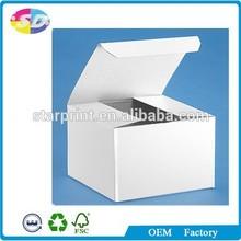 White Paper Box Tuck Top Snap Lock Bottom (TTSLB) Packaging