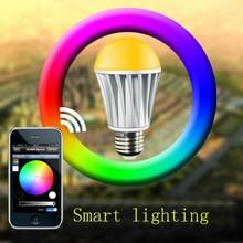 Smart home lighting wifi dimmable E27 5w led bulb