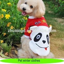 Traje de la Panda para mascotas, ropa del animal doméstico y accesorios