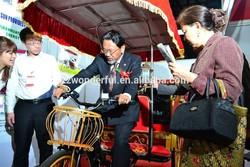 solar electric rickshaw with GPS