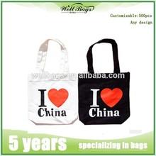 2015 promotional cotton bag/cotton shopping bag/cotton tote bag