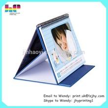 cheap good quality customized professional table calendar wholesale calendar desk calendar printing