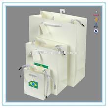 Alibaba china paper bag manufacturer, custom brand paper bags with logo printing paper bag