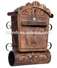 metal mail box