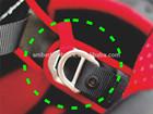 Safety Adjust Double Delta D Ring Buckle (Biner Hook), Quick Buckle, Metal Buckle