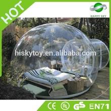 Venda quente e certificado do ce pvc ao ar livre da barraca de bolha, tendas interior, preço da bolha para a barraca