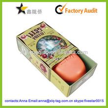 2015 Customize new design custom soap packaging box