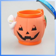 Plastic Coffee Mug with Pumpkin head for Children