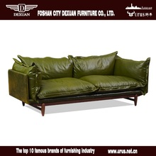 Hot sell modern furniture leisure leather sofa