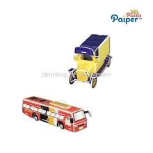 Education city games kids car model toy mini bus