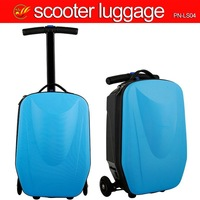 Fashion suitcase scooter bag trolley micro 3in1 suitcase scooter for travel ( PN-LS04)