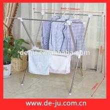 Venta al por mayor toallero de acero inoxidable personalizada ropa estante estante del paño