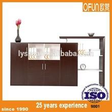 Large wood veneer customized filing cabinet