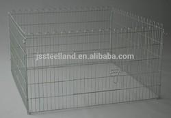zinc plated outdoor metal wire dog pet playpen