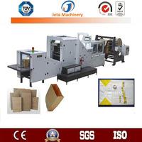 [JT-SBR180]Fully automatic roll feeding kraft paper bag making machine