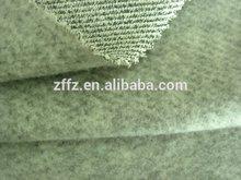 Top selling 100% spun polyester anti pill fleece fabric