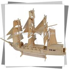 Cũ thời trang châu Âu thuyền, tàu đồ chơi, gỗ mô hình cho những người yêu con tàu