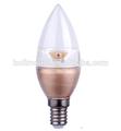4wdimmable330lm2015e14แสงเทียนนำเทียน3โวลต์นำหลอดไฟ