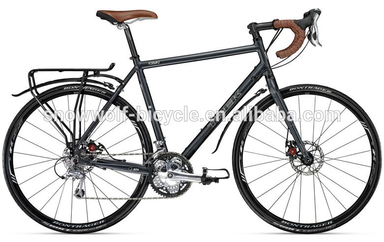 น้ำหนักเบาอลูมิเนียมจักรยานไฮบริด/จักรยานเสือภูเขาอยู่ในสภาพดี