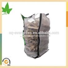pp bulk bag/ vented big bag packing firewood 1000kg