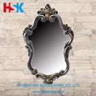 resin decorative antique decorative wall mirrors glass
