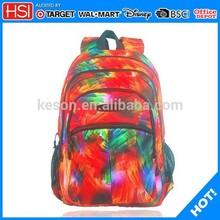 alibaba wholesale BSCI audited supplier japan high school bag