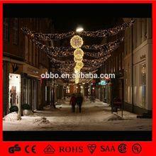 OB-SL feather pads led christmas star string lights