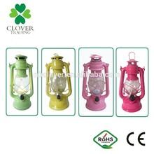 2015 chinese led camping light hand using Hot Antique LED Hurricane Lantern