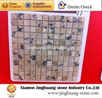 Marble stone mosaic art pattern