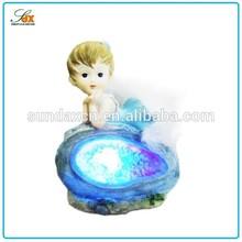 Designer hot sale polyresin baby figurines ornaments