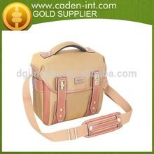 BinSing Polyester with Leather trim Dslr Sling Camera Shoulder bag