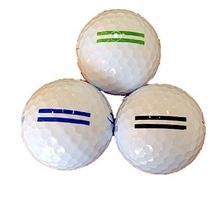 Excellent performance of 2 piece plastic practice golf ball for wholesale