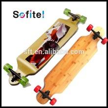 chinese maple skateboard/wooden skateboard/cheap longboards for sale